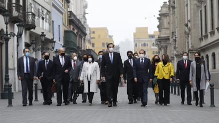 Walter Martos: El Parlamento y el Ejecutivo tienen que trabajar juntos en momentos difíciles [VIDEO]