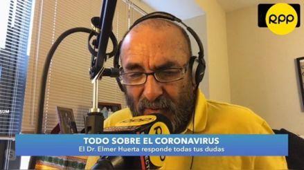 Coronavirus: El doctor Elmer Huerta es seleccionado como voluntario para los estudios clínicos de la vacuna de Moderna