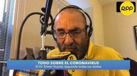 """Elmer Huerta tras someterse a ensayo clínico de la vacuna de la COVID-19: """"No he sentido fiebre ni dolor de cabeza"""""""