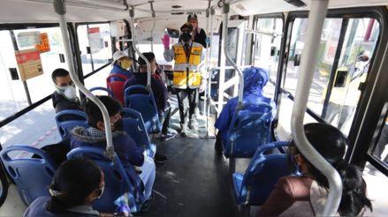 Transportistas de Lima y Callao levantan suspensión del servicio programada para el 3 de septiembre