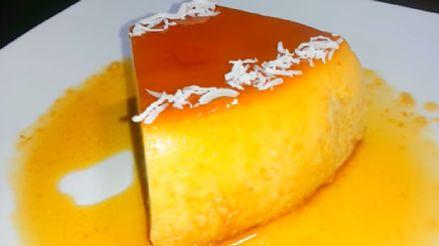 Receta de crema volteada de coco: Prepara este rico postre en casa