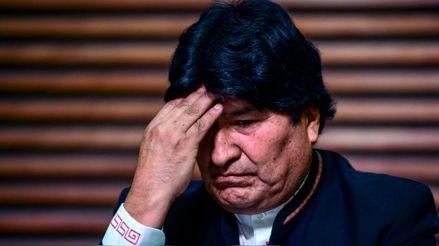 Tribunal inhabilitó la candidatura de Evo Morales al Senado de Bolivia