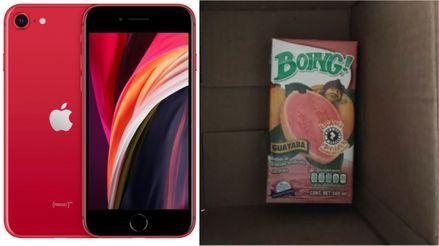 ¿Compras un iPhone y recibes... un jugo? Aparentemente le ha pasado a más de una persona en México