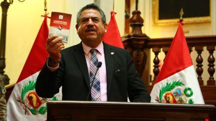 Manuel Merino sobre preguntas repetidas a ministra de Economía: Queríamos saber si la respuesta era la misma [VIDEO]