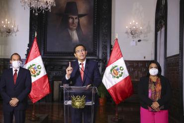 """Martín Vizcarra: """"Si quieren vacarme, aquí estoy, con la frente en alto y la conciencia tranquila"""""""