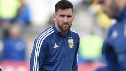 Lionel Messi quedó habilitado para jugar en el inicio de las Eliminatorias tras prescripción de sanción
