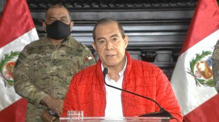 """Walter Martos a congresistas: """"No se presten a los intentos de algunos sectores a desestabilizar el país"""""""