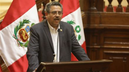 Comité Político de Acción Popular se reunirá a las 6 p. m. con Manuel Merino tras revelarse que se comunicó con comandantes de FF.AA.