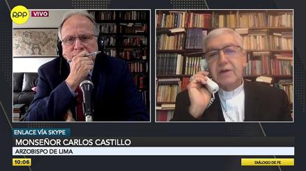 """Monseñor Carlos Castillo: """"No podemos inestabilizar al país con una pretensión de vacancia"""" [VIDEO]"""