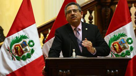 Frente Amplio presenta moción de censura contra el presidente del Congreso