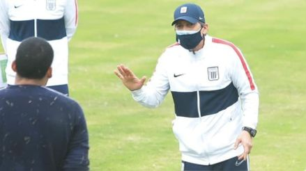 """Mario Salas: """"Tengo mucha confianza y fe en que mis jugadores van a estar a la altura del partido"""""""