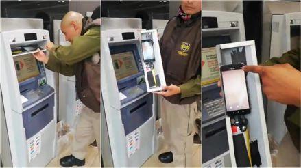 Así es cómo un celular puede grabar tu clave en un cajero automático