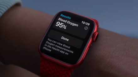 Apple presentó el Apple Watch Series 6, su reloj inteligente con medidor de oxígeno incluido