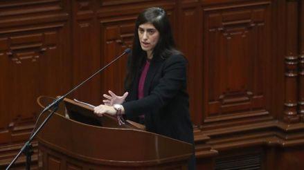 Congreso: Pleno debate hoy la moción de censura a María Antonieta Alva