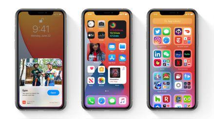 Los sistemas operativos iOS 14, iPadOS14 y watchOS 7 llegan este miércoles a los dispositivos Apple