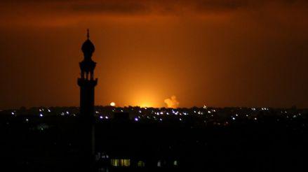 Israel bombardea Gaza tras lanzamientos de cohetes contra su territorio