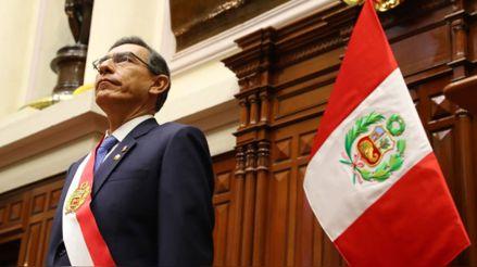 Un 79 % de peruanos considera que Martín Vizcarra debe continuar como presidente, según encuesta de Ipsos Perú
