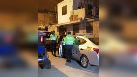 SJM: Policías suspendieron intervención a fiesta clandestina porque no les abrieron la puerta
