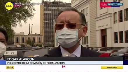 """Edgar Alarcón: """"Lo único que queremos es que venga Martín Vizcarra y explique al país por qué mintió"""""""