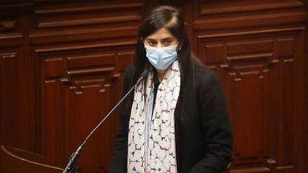 María Antonieta Alva | Congreso: Pleno del Congreso rechazó la moción de censura a la ministra de Economía