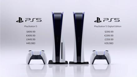 PS5 costará US$ 499 y estará disponiblemente globalmente en noviembre