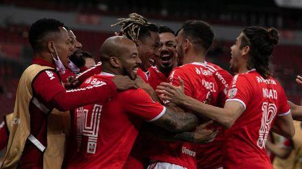 En el último minuto, Internacional venció 4-3 a América de Cali por la fecha 3 del Grupo E de la Copa Libertadores