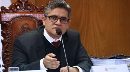 Ministerio Público: Pérez Gómez no intervino en investigaciones a Vizcarra cuando fue fiscal en Moquegua
