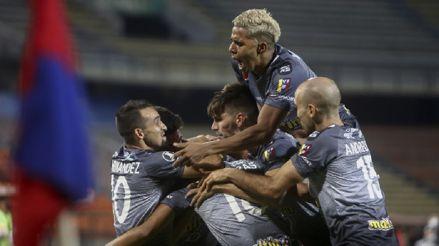 ¡Triunfazo! Caracas FC venció 3-2 al DIM en Medellín por la fecha 3 del Grupo H  por la Copa Libertadores