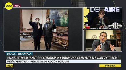 Mesías Guevara exhorta a Manuel Merino aclarar su relación con Santiago Arancibia