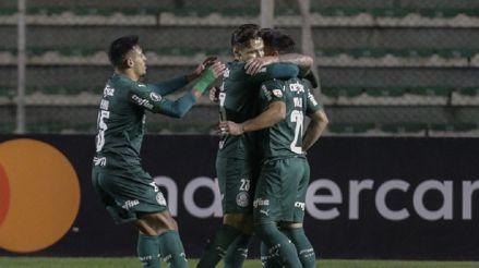 Palmeiras se impuso 2-1 a Bolívar en La Paz por el Grupo B de la Copa Libertadores