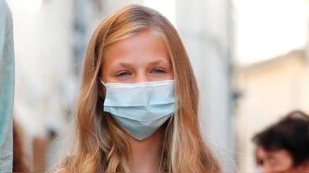 España: Princesa Leonor continuará en cuarentena tras un caso de COVID-19 entre sus compañeros de clase