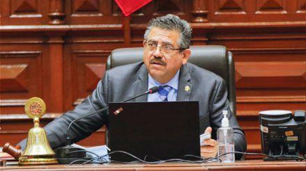 """Manuel Merino: """"Estaremos en contra de los intereses particulares que traten de mellar la imagen del Congreso"""""""