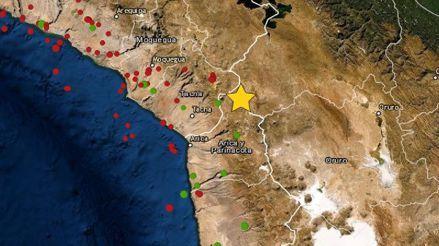 Un sismo de magnitud 4.1 remeció la región Puno esta madrugada