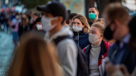 """OMS advierte sobre el """"alarmante"""" ritmo de transmisión del coronavirus en Europa"""