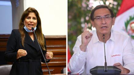 Carmen Omonte: No se cuenta con los votos para lograr la vacancia presidencial