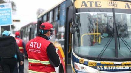 Estos son los horarios de los servicios de transporte que regirán en Lima y Callao el domingo