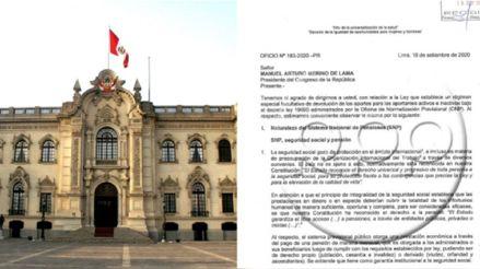 Retiro de ONP: Gobierno observó ley que permitiría el retiro de aportes por estas razones