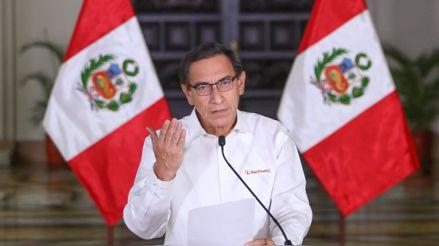 """Presidente Vizcarra: """"Sigamos trabajando todos unidos por lo que realmente importa a los peruanos"""""""