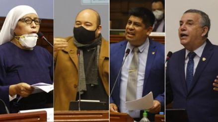 Esto dijeron los voceros de las bancadas durante el debate de la moción de vacancia contra Vizcarra