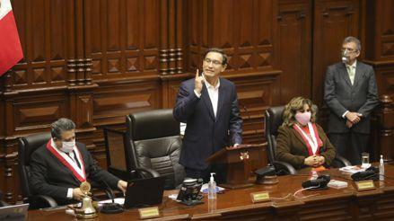 Martín Vizcarra: Así fue su discurso en el Congreso ante la moción de vacancia