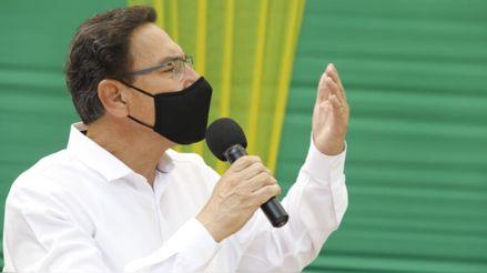 """Martín Vizcarra: """"No tenemos tiempo para perder en discusiones estériles entre políticos"""""""