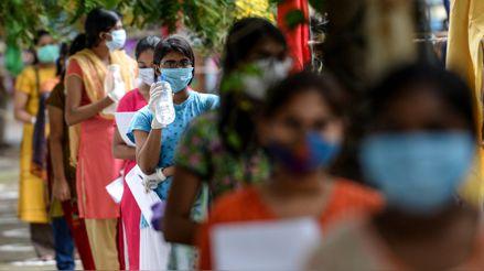 India registra más de 92 000 nuevos casos de la COVID-19 en las últimas 24 horas