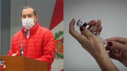 Walter Martos estima que vacuna contra la  COVID-19 podría aplicarse el primer trimestre de 2021