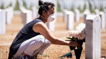El coronavirus ha matado a más personas en Estados Unidos que las últimas cinco guerras