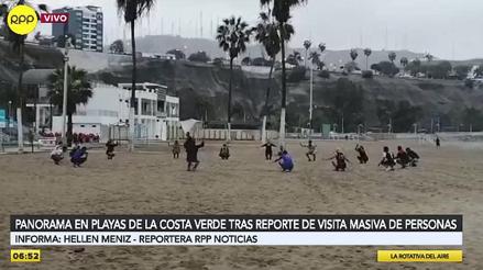 Chorrillos: la playa Agua Dulce, ensuciada por visitantes el pasado domingo, fue limpiada por personal edil [VIDEO]