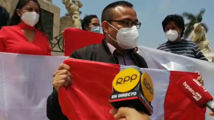 Trujillo: Con banderazo celebran decisión del Tribunal Constitucional a favor de la Sunat
