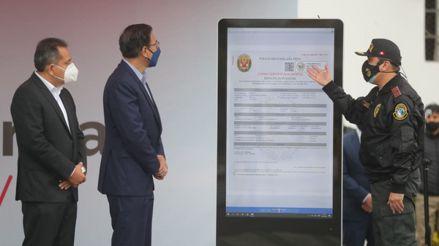 """Gobierno presentó la plataforma """"Denuncia policial digital"""" para pérdida o robo de documentos"""