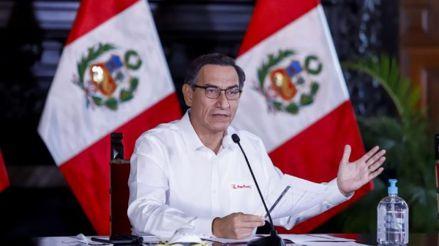 Martín Vizcarra anuncia suscripción de proyecto de ley que permitirá acceder a la vacuna contra la COVID-19