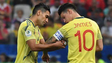 James Rodríguez y Falcao son fijos en  la Selección de Colombia para el inicio de las Eliminatorias Qatar 2022