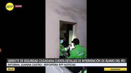 San Isidro: sujeto que asesinó a policía fue intervenido por romper la puerta y meterse a una casa [VIDEO]